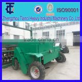 Self propelled chicken manure compost mixing machine/chicken manure composting machine/compost turner