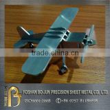 custom manufacture stainless steel plane decoration assembly fabricated service by china supplier