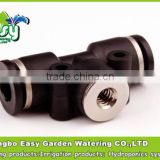 8MM coupling with female thread 10/24''. Pneumatic slip lock nozzle base.Quick connector. for hydro-pnuematic technology
