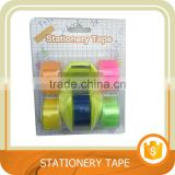 Bopp stationery tape with tape dispenser. Trade assurance.