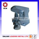 OEM ductile cast iron casting steel thread rod slide bar woodworking H-shaped purlin clamping apparatus Girder Clamps