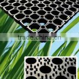 grass protection rubber ring mats/hollow matting 22mm thickness