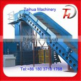Full automatic horizontal baler for loose material,Waste Paper And Used Cardboard baling press machine