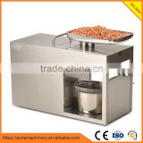 Stainless steel mini oil press machine/ home use oil extraction machine/small oil press machine