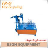 tire rim steel wire recycling machine tire rim steel wire cutting machine tyre rim steel wire cutter