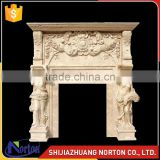 natural marble fireplace frame for indoor deocration NTMF-F514X