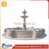 Norton factory water marble fountain for garden decoration NTMF-014LI