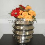 Flower Vase for Home Decoration Nickle Plated