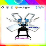 easy operation and 100% new screen printing machine with vacuum table one sale