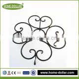 garden wire plant stands/wire mesh flower stand/outdoor garden wrought iron flower pot stands/metal garden pot stands