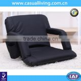 Outdoor and Indoor Use Stadium Seat Reclining Bleacher Folding Sport Chair Reclines