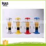 Various Customize drink juice tower beer tower beer dispenser for party/bar/world cup