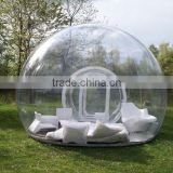 T21 Awning transparent inflatable bubble tent for sale