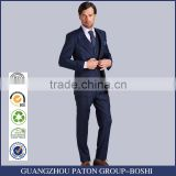 Bospoke Slim Fit Blue Latest Design Coat Pant Men Suit