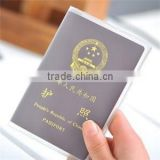 Waterproof Spoil-proof Passport Bag Protective Sleeve Frosted Transparent Passport Holder