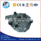 C2042HP Hollow Pin Type Palm Oil Conveyor Chains 40Mn or Stainless Steel