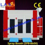 Truck paint spraying booth