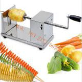South Korean hot sale tornado potato tower crane machine stainless steel potato spiral cutter machine potato spiral slicer