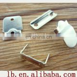 2013 high quality silver ,anti-brass metal trousers metal hook button and eye and bar for garment for garment