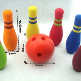 20cm Height High Density Kids Foam Bowling Set Easy To Clean