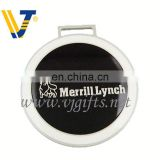 2013 Hot silver handbag logo metal plate