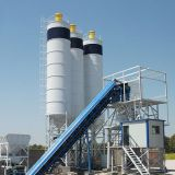 HZS50 Small Concrete Mixing Plant