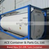 ASME Standard 25000L New Electricity and Steam Heated Container Fuel Tank ISO Tank Container 20ft