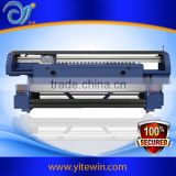 Direct to fabric rotary nylon silk textile roller clothing garment printing machine