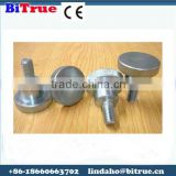 China Factory fastener costom big head hand tighten screws