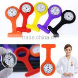 2016 Hot sale custom silicone watches nurse watch silicone watch
