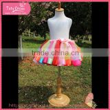 Tulle skirt evening prom dress, little girls tutu, girls denim short skirts