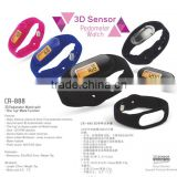 Waterproof Calorie Wristband Step Counter Pedometer