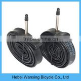 Wholesale price butyl bicycle inner tube, bicycle tubes with different valve