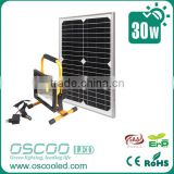 Good quality solar energy 30W rechargeable blue point led work light ford explorer accessories