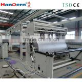 High speed hot melt car foot mat lamination machine with CE certification