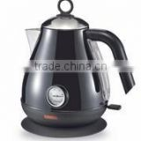 Thermometer Electric kettle with boil dry protection and 360 degree rotation for home use