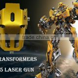 U5 LED laser Gun Day Light Motorcycle Car Waterproof Light Laser motor headlight With Transformers Body