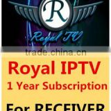 Inquiry about 1 Year Royal IPTV Subscription For Tiger receiver and Android Box