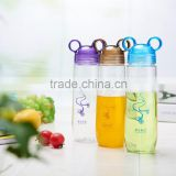 Supply new design hot selling cheap logo printed BPA free Tritan fruit infuser sport water bottle