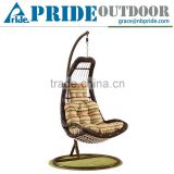 All Weather Wicker Rattan Hanging Helicopter Swing Chair Parts Bamboo Swing Chair