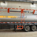 40CBM 3 axles LPG tanker trailers,LPG road tanker