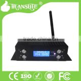 2.4G Wireless DMX 512 Controller Transmitter Receiver LCD Display Power Adjustable Lighting Controller DMX512