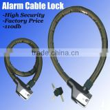 Cable Alarm Lock Bicycle