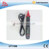 Free shipping New Digital Meter UT118B Pen Type Multimeters Detector