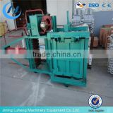 Factory direct sell hydraulic vertical small baler machine for waste paper,plastic,clothing