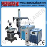 Steel Mold /Plastic Injection Mold Repair Welding Large Mobile Arm Fiber Laser Welder Devices