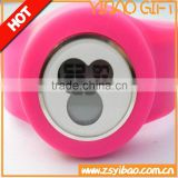 Unisex Gender and Charm silicone rubber bracelet watch