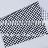 PVC coated cotton fabric for window cloth / placemat