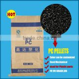 Black Color High quality Injection molding grade Polycarbonate PC Resin PC pellets GF 30