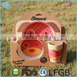 Biodegradable Eco-Friendly BamBoo Kids Dinner Set /